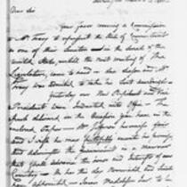 Jonathan Trumbull, Jr. correspondence with Congressmen, 1801-1818