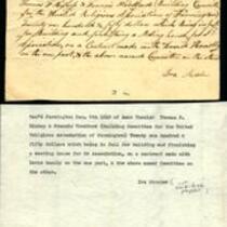 Avon Congregational Church - Contract Receipt