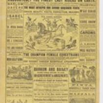 Courier: Barnum and Bailey, Lowell, May 22, 1891
