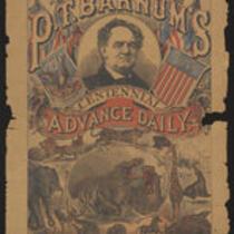 Courier: P. T. Barnum's Centennial Advanced Daily