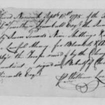 American Revolution Collection: Clothing accounts, 1775-1782