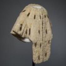 Textile: Fur cape belonging to M. Lavinia Warren