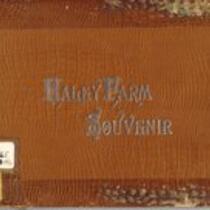 Haley Farm Souvenir Book
