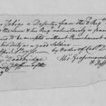 American Revolution Collection: Deserters, 1781
