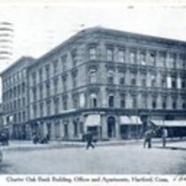 Charter Oak Bank building, offices, apartments, Hartford, Conn.