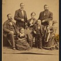 Photograph: Family portrait of the Bumps, Bleeckers and Strattons