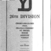 Brief history of the Fighting Yankee Division, A.E.F