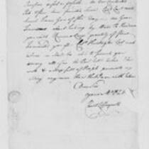 Correspondence with Joseph Blaney, Jedediah Huntington, Christopher Leffingwell, 1775 August 14-31
