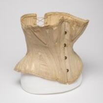 Textile: Corset belonging to M. Lavinia Warren